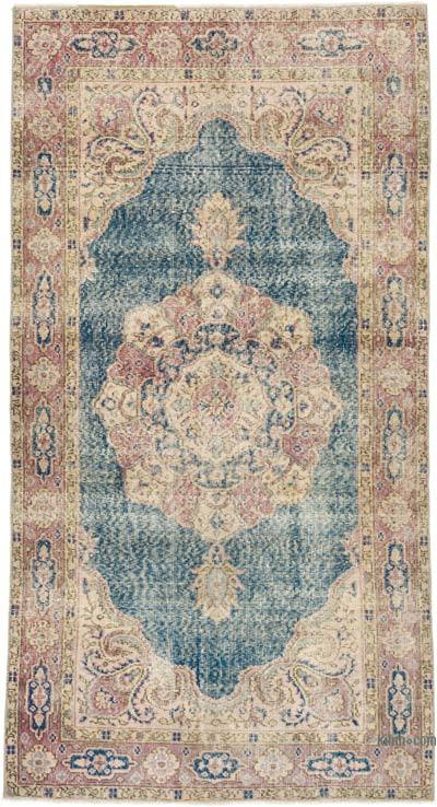 """Vintage Turkish Hand-Knotted Rug - 3' 7"""" x 6' 8"""" (43 in. x 80 in.)"""