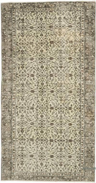 """Vintage Turkish Hand-Knotted Rug - 3' 7"""" x 6' 9"""" (43 in. x 81 in.)"""