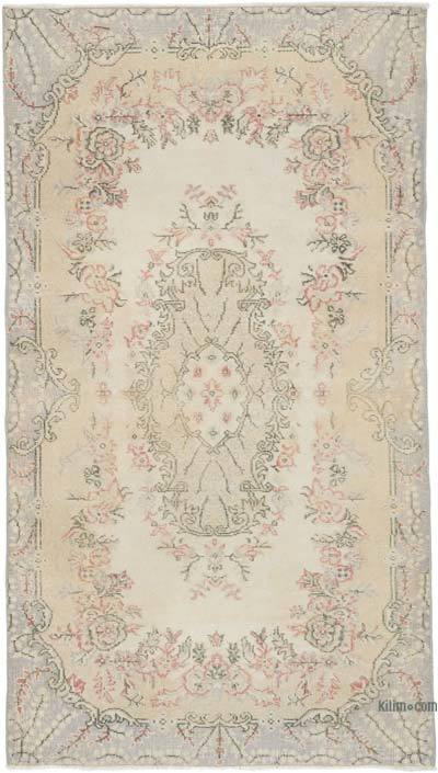 """Vintage Turkish Hand-Knotted Rug - 3' 9"""" x 6' 8"""" (45 in. x 80 in.)"""