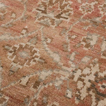 """Vintage Turkish Hand-Knotted Runner - 2' 5"""" x 9' 5"""" (29 in. x 113 in.) - K0056454"""