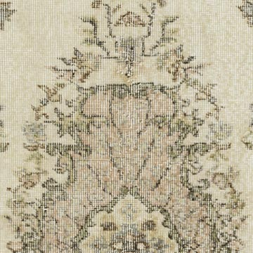 """Vintage Turkish Hand-Knotted Rug - 3' 9"""" x 6' 7"""" (45 in. x 79 in.) - K0056455"""