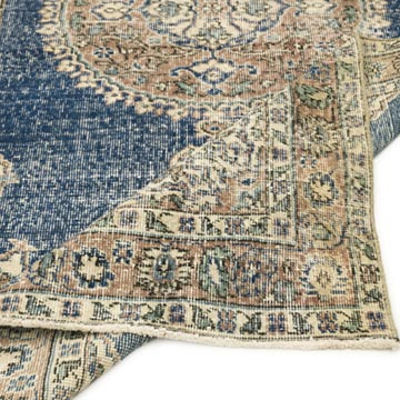 """Vintage Turkish Hand-Knotted Rug - 3' 8"""" x 6' 9"""" (44 in. x 81 in.) - K0056459"""