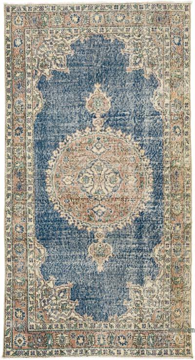 """Vintage Turkish Hand-Knotted Rug - 3' 8"""" x 6' 9"""" (44 in. x 81 in.)"""
