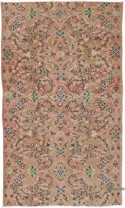 El Dokuma Vintage Halı - 112 cm x 185 cm