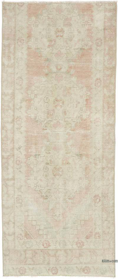"""Vintage Turkish Hand-Knotted Runner - 2' 9"""" x 6' 7"""" (33 in. x 79 in.)"""