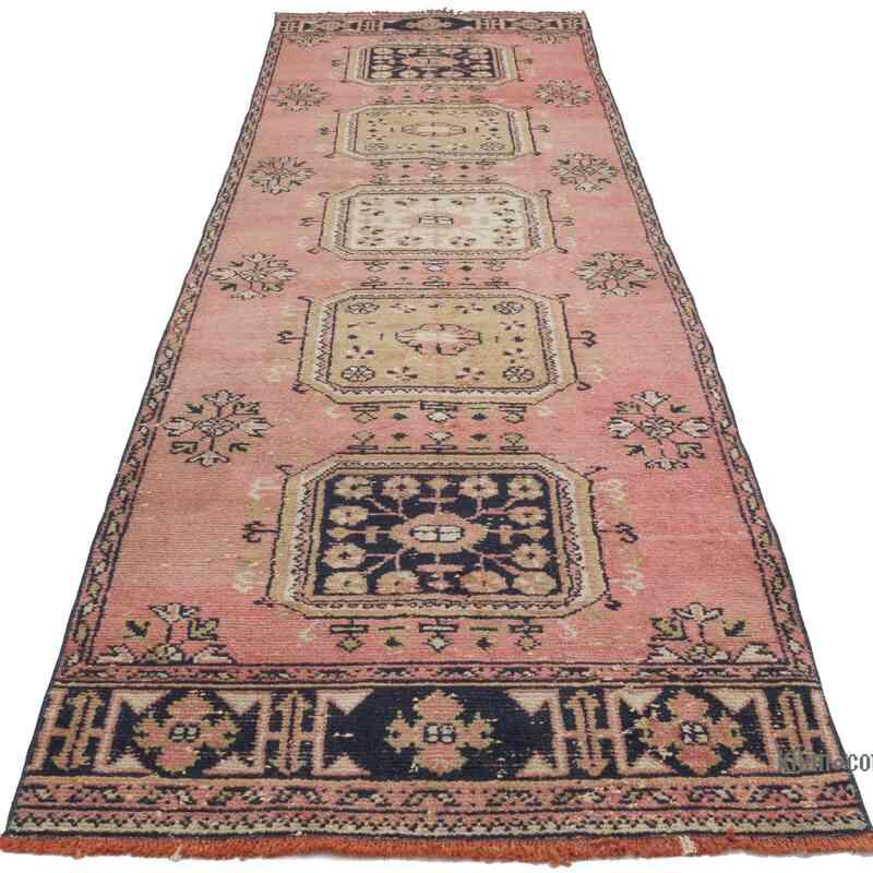 Alfombra Turca Vintage De Pasillo - 95 cm x 332 cm - K0056473