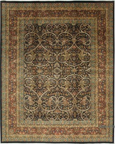 """Multicolor New Hand-Knotted Wool Oushak Rug - 11' 6"""" x 14' 6"""" (138 in. x 174 in.)"""