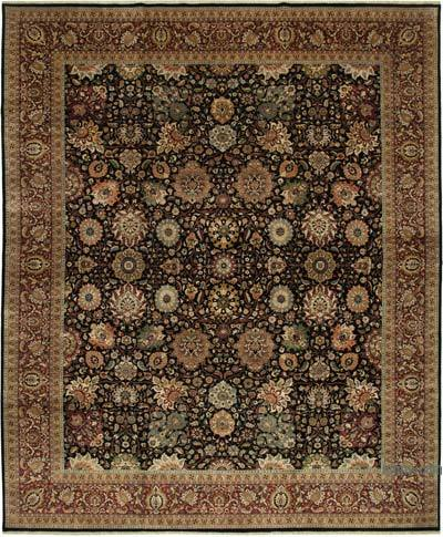 """Multicolor New Hand-Knotted Wool Oushak Rug - 12'  x 14' 7"""" (144 in. x 175 in.)"""