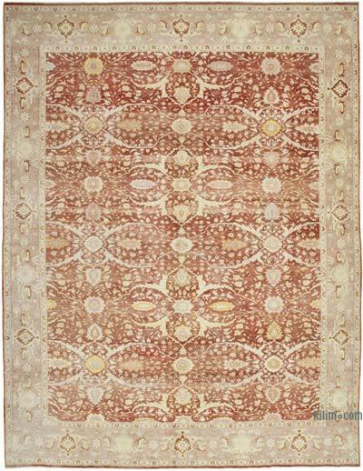 Rojo Yeni El Dokuma Uşak Halısı - 350 cm x 470 cm