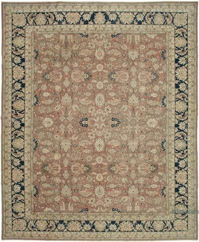 """Beige New Hand-Knotted Wool Oushak Rug - 13' 1"""" x 16' 1"""" (157 in. x 193 in.)"""
