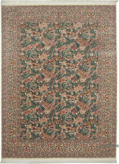 Beige New Hand-Knotted Wool Oushak Rug - 9'  x 12'  (108 in. x 144 in.)