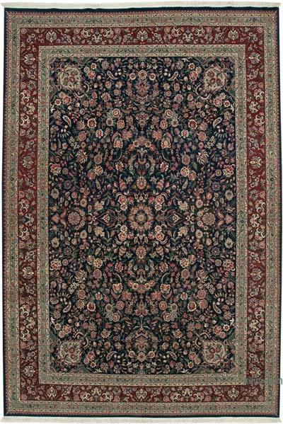 Multicolor Yeni El Dokuma Uşak Halısı - 270 cm x 402 cm