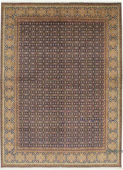 Multicolor New Hand-Knotted Wool Oushak Rug - 8'  x 11'  (96 in. x 132 in.)