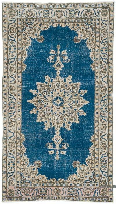 """Vintage Turkish Hand-Knotted Rug - 3' 9"""" x 6' 9"""" (45 in. x 81 in.)"""