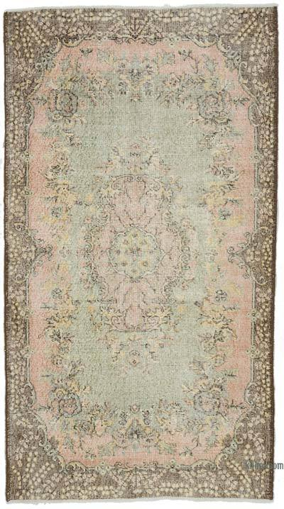 """Vintage Turkish Hand-Knotted Rug - 4'  x 7' 1"""" (48 in. x 85 in.)"""