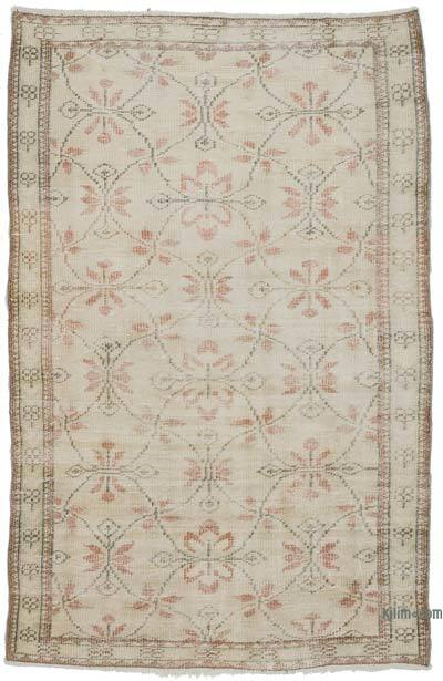 """Vintage Turkish Hand-Knotted Rug - 4'  x 6' 1"""" (48 in. x 73 in.)"""