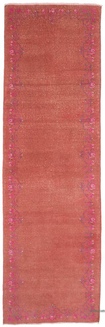 """Vintage Turkish Hand-Knotted Runner - 2' 10"""" x 9' 2"""" (34 in. x 110 in.)"""