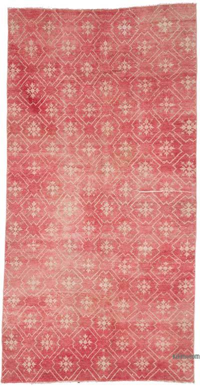 """Vintage Turkish Hand-Knotted Rug - 4' 4"""" x 8' 4"""" (52 in. x 100 in.)"""