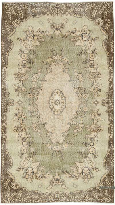 """Vintage Turkish Hand-Knotted Rug - 3' 11"""" x 6' 11"""" (47 in. x 83 in.)"""