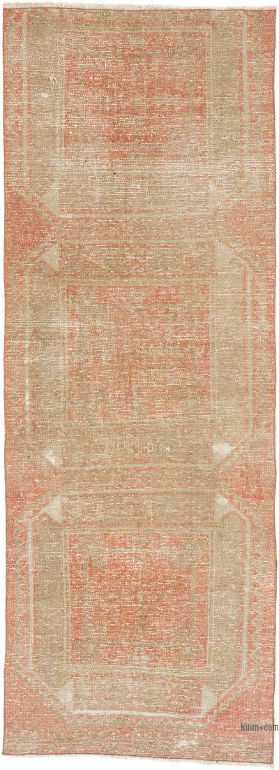 """Vintage Turkish Hand-Knotted Runner - 2' 10"""" x 7' 10"""" (34 in. x 94 in.)"""
