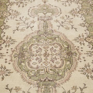 """Vintage Turkish Hand-Knotted Rug - 3' 8"""" x 6' 8"""" (44 in. x 80 in.) - K0056810"""