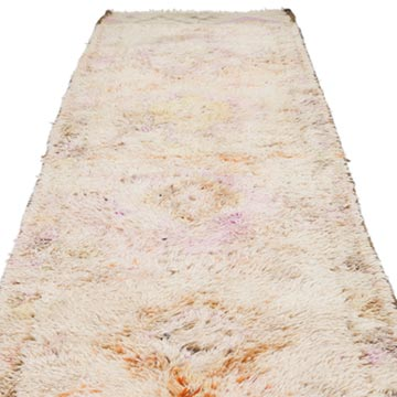 """Vintage Turkish Hand-Knotted Runner - 2' 11"""" x 11' 11"""" (35 in. x 143 in.) - K0056815"""