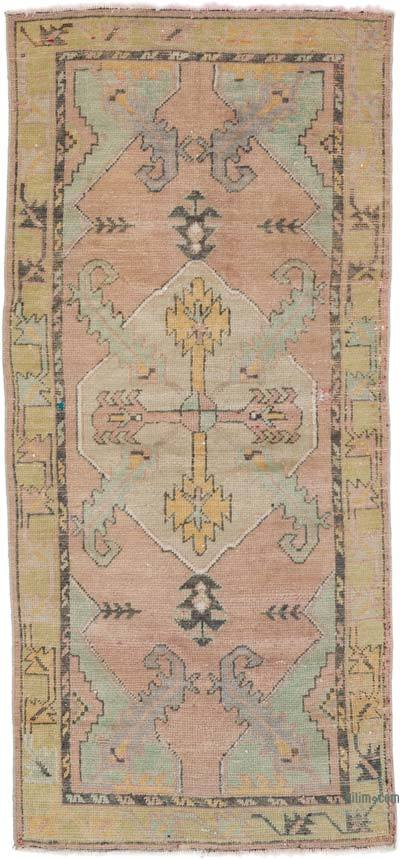"""Vintage Turkish Hand-Knotted Rug - 2' 7"""" x 5' 6"""" (31 in. x 66 in.)"""