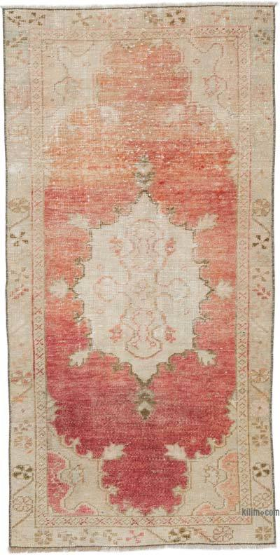 """Vintage Turkish Hand-Knotted Rug - 2' 5"""" x 4' 10"""" (29 in. x 58 in.)"""