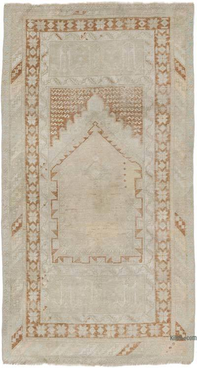 """Vintage Turkish Hand-Knotted Rug - 3' 2"""" x 5' 10"""" (38 in. x 70 in.)"""