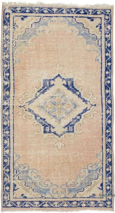 """Vintage Turkish Hand-Knotted Rug - 2' 5"""" x 4' 5"""" (29 in. x 53 in.)"""