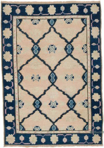"""Vintage Turkish Hand-Knotted Rug - 2' 6"""" x 3' 5"""" (30 in. x 41 in.)"""