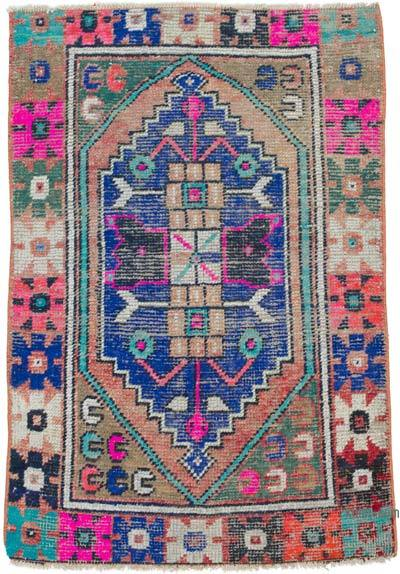 """Vintage Turkish Hand-Knotted Rug - 2' 7"""" x 3' 8"""" (31 in. x 44 in.)"""
