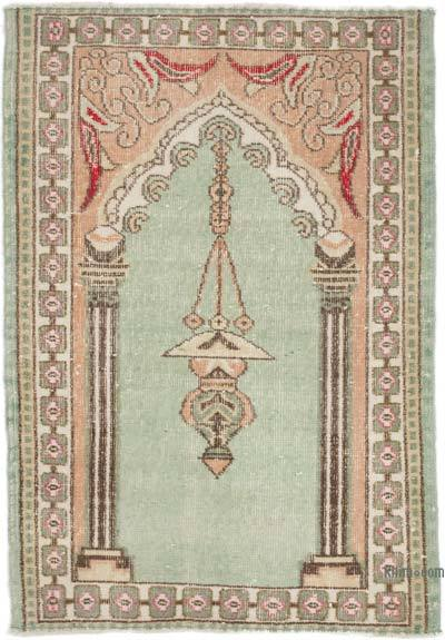 """Vintage Turkish Hand-Knotted Rug - 2' 8"""" x 3' 10"""" (32 in. x 46 in.)"""