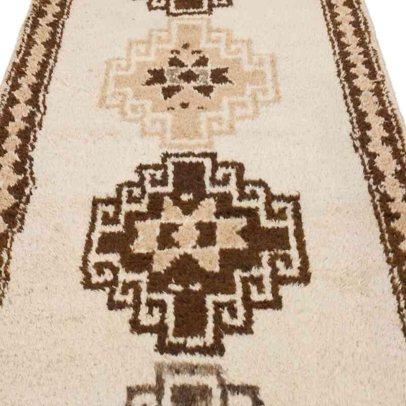 "Vintage Turkish Runner Rug - 3' 3"" x 10' 8"" (39 in. x 128 in.) - K0056868"
