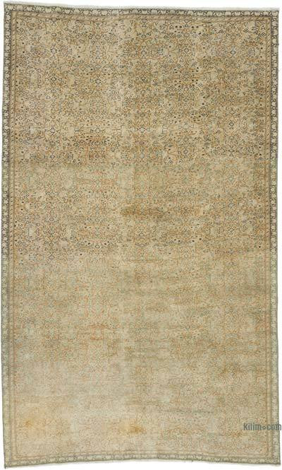 """Vintage Turkish Hand-Knotted Rug - 4' 11"""" x 8' 3"""" (59 in. x 99 in.)"""