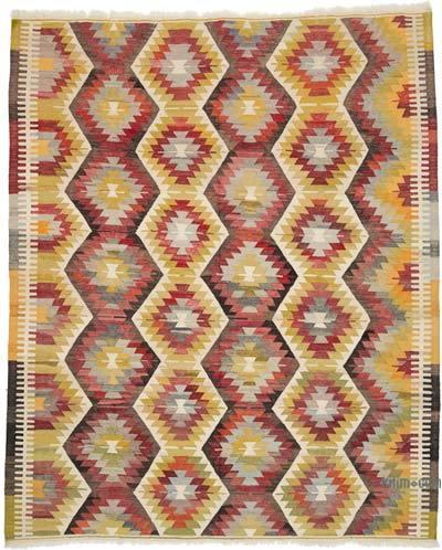 Yeni Kök Boya El Dokuma Kilim - 254 cm x 306 cm
