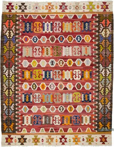 Yeni Kök Boya El Dokuma Kilim - 268 cm x 343 cm