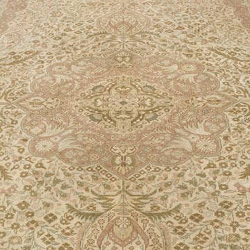 """Vintage Turkish Hand-Knotted Rug - 6'  x 9' 5"""" (72 in. x 113 in.) - K0056919"""