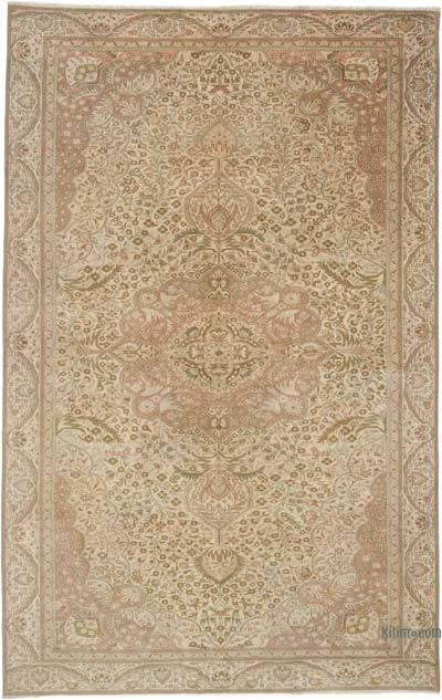 """Vintage Turkish Hand-Knotted Rug - 6'  x 9' 5"""" (72 in. x 113 in.)"""