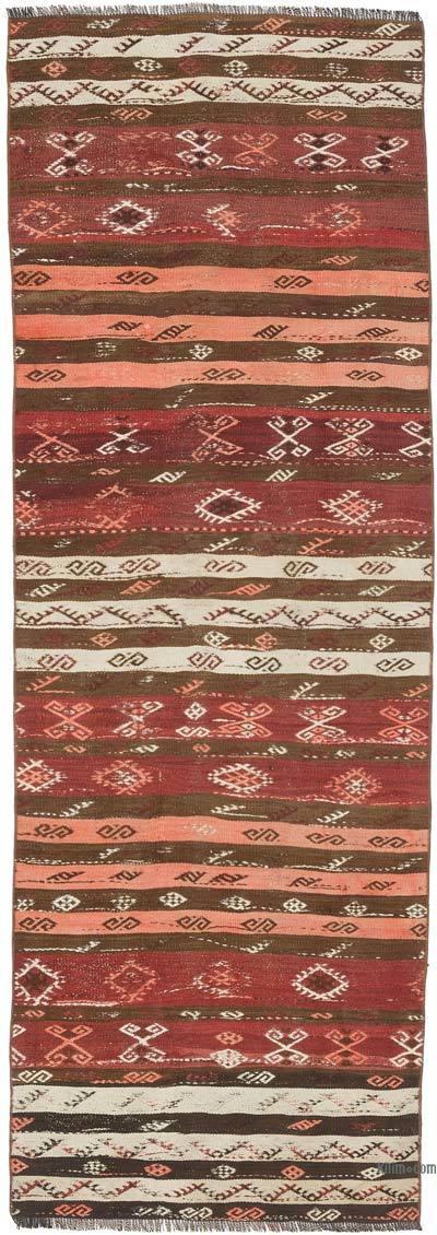 """Vintage Anatolian Kilim Runner - 2' 10"""" x 8' 2"""" (34 in. x 98 in.)"""