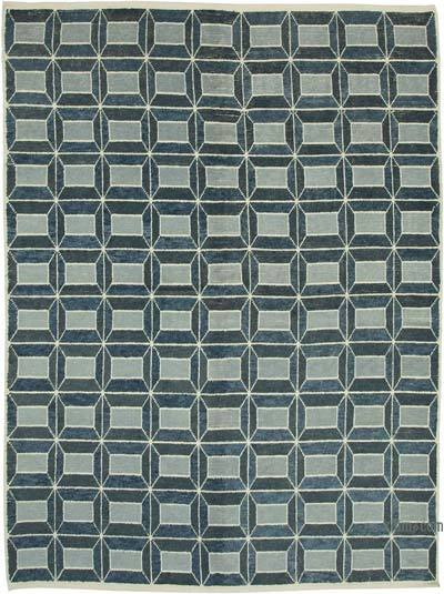 """New Hand-Knotted Rug - 7' 7"""" x 10' 3"""" (91 in. x 123 in.)"""