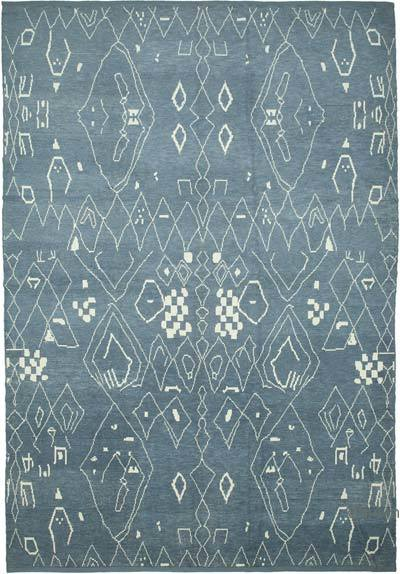 """New Hand-Knotted Rug - 9' 10"""" x 14' 1"""" (118 in. x 169 in.)"""