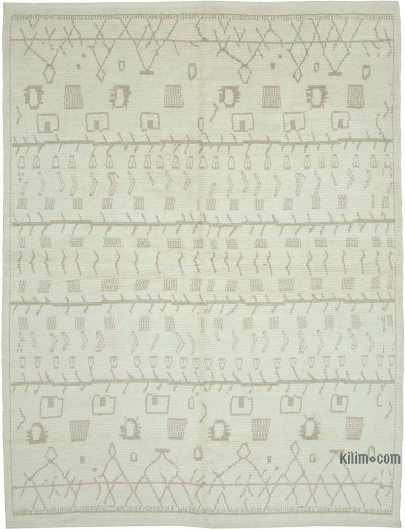 """Moroccan Style Hand-Knotted Tulu Rug - 8' 5"""" x 10' 9"""" (101 in. x 129 in.) - K0056955"""