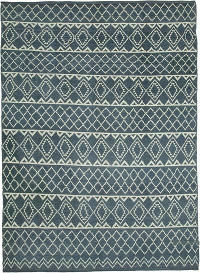 """New Hand-Knotted Rug - 9' 1"""" x 12' 4"""" (109 in. x 148 in.)"""