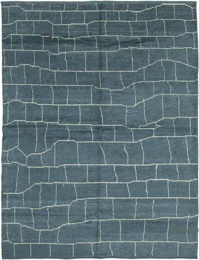 """New Hand-Knotted Rug - 7' 9"""" x 9' 11"""" (93 in. x 119 in.)"""
