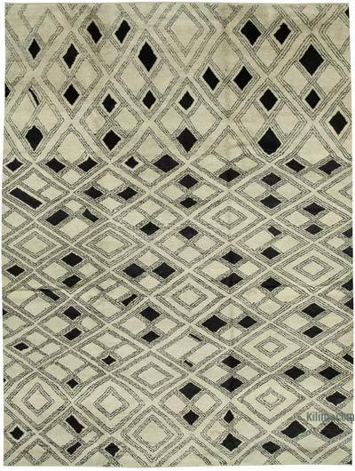 """New Hand-Knotted Rug - 10' 1"""" x 13' 8"""" (121 in. x 164 in.)"""
