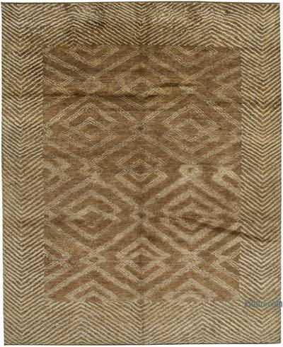"""New Hand-Knotted Rug - 8' 3"""" x 10'  (99 in. x 120 in.)"""