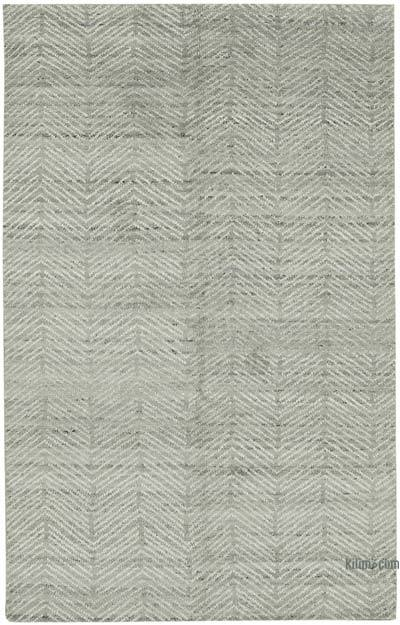 """New Hand-Knotted Rug - 5' 1"""" x 8' 1"""" (61 in. x 97 in.)"""