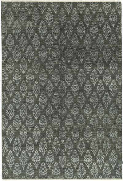 """New Hand-Knotted Rug - 9' 1"""" x 6' 2"""" (109 in. x 74 in.)"""