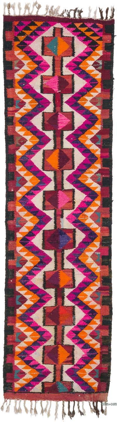 Kilim Vintage Turco de Pasillo - 98 cm x 337 cm
